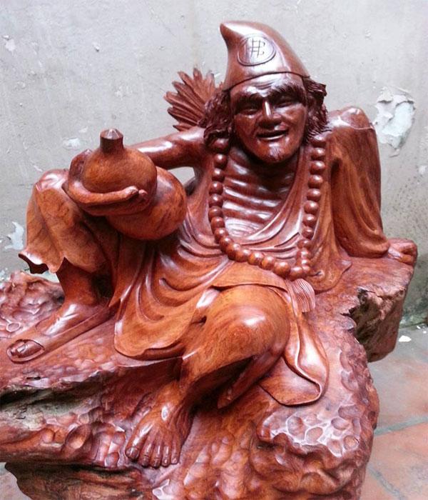 vệ sinh tượng trang trí bằng gỗ